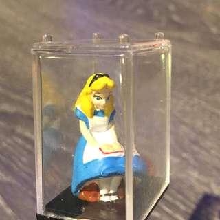 迪士尼 愛麗絲小扭蛋公仔