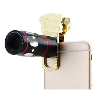4-IN-1 Universal Cat Clamp Photo Lens For Iphone IPAD Samsung HTC Tablet PC ETC