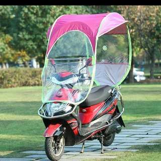 Motorcycle/Scooter Canopy for Sun Wind & Rain