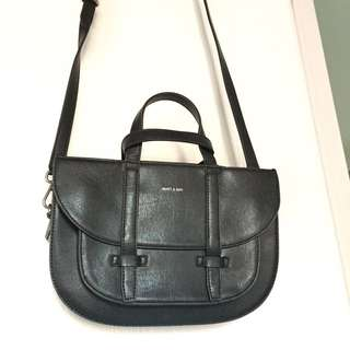 black matt & natt leather purse