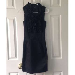 Le Chateau Black Pencil Dress