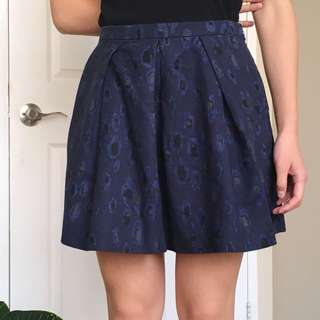 Navy skirt from GAP