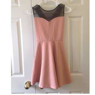 Mendicino Peach Dress