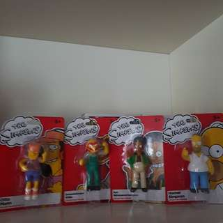 The Simpsons official figurines