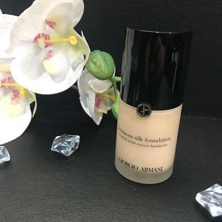 Giorgio Armani luminous Silk Foundation #3
