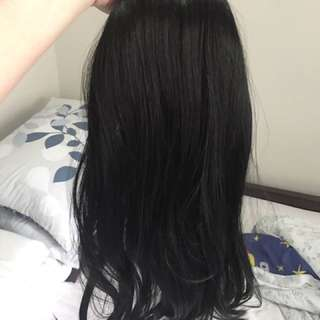 Clip on human Hair Extension