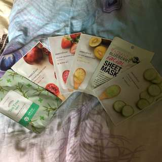 Face masks variety