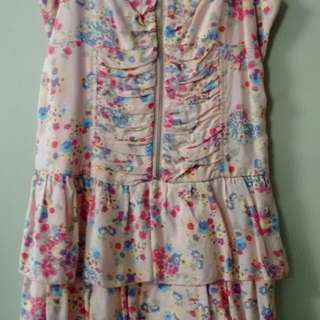 Jayjays pink floral dress-8-new