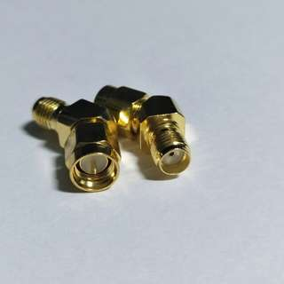 1 piece 45 degrees SMA to SMA coaxial adapter