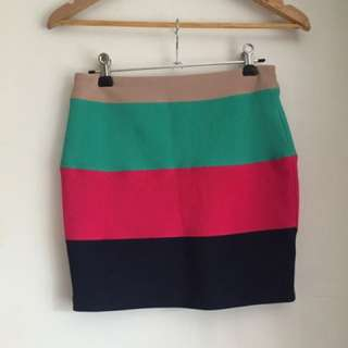 Chicabooti Bodycon Skirt Size 8 10