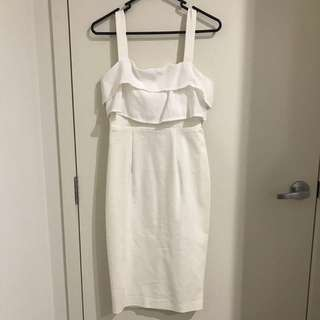 DISSH White Dress Size 8