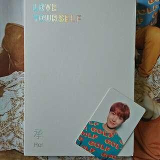 Unsealed BTS love yourself album V version