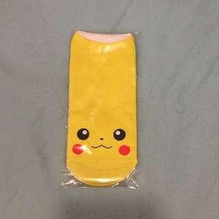 Pikachu socks!