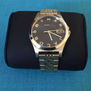 Marc By Marc Slim Black Steel Ladies Watch