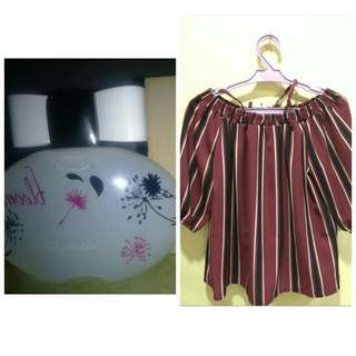 perfume plus off shoulder