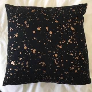 Adairs Black Cushion/Pillow
