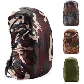 80L Portable Waterproof Backpack cover 210D Rain Bag Dust Rain Cover For Outdoor Travel Camping Hiking Cycling Anti-theft rain cover