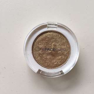 The Face Shop Gold Eyeshadow