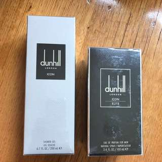 Dunhill parfum and shower gel