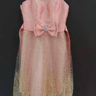 Preloved Dress Cherrybelle Peach