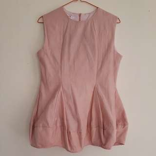 Baloon Sleeveless Shirt