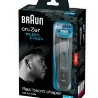 Braun Cruzer 6 Trimmer and Clipper Grey