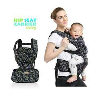 Hip Seat Baby Carrier - BLACK