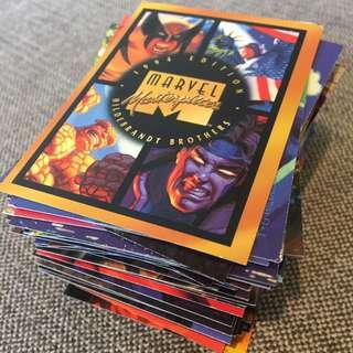 Fleer Marvel Masterpieces 1994