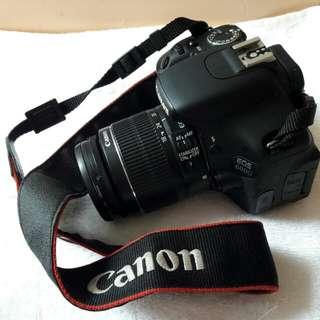 slr camera (canon E0S 600D) SOLD NAPOH