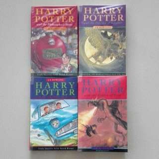 Harry Potter Books 1 to 4