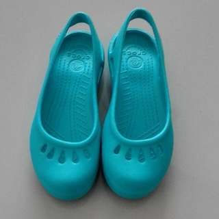 Turquoise Closed Toe, Slip Ons