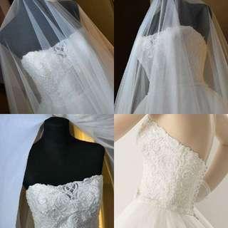 Re-price.!! ROSA CLARA wedding gown