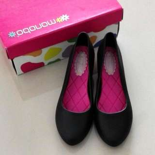 Black Court (Jelly) Shoes