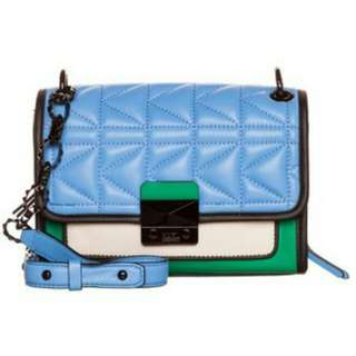 Authentic Karl Lagerfeld Green Kuilted (Paris)