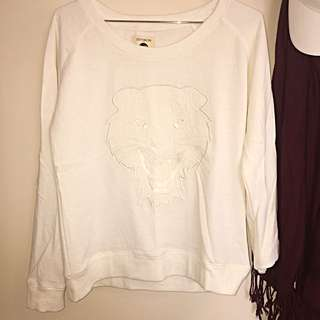 White Tiger Jumper