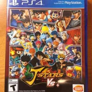 PS4 J-stars Victory vs+ 日本卡通人物格鬥