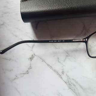 Burberry black frames with -3 lens