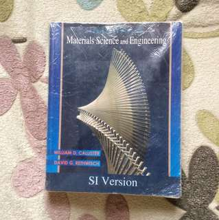 Materials Science and Engineering 8th Ed.