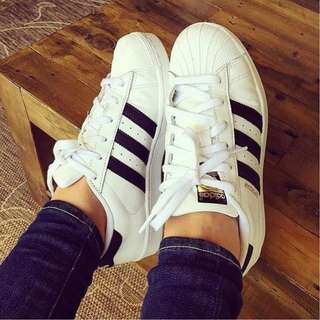 🚚 (保留)adidas superstar 金標