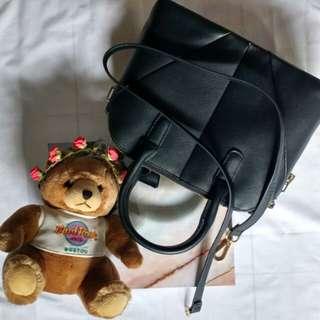 Zara black hand bag