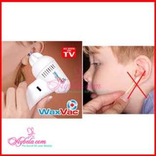 Waxvac Ear Cleaner Vacuum Pembersih Kotoran Telinga / Korek Kuping