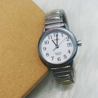 PRICE REDUCTION! Preloved Timex Silver Tone Watch