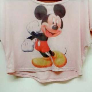 Mikkie mouse shirt