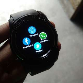 Smartwatch V8 anti air