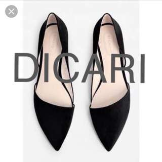 Dicari preloved flat shoes mango size 38 | mng zara topshop uniqlo h&m bershka stradivarius chanel lv gucci hermes uniqlo vnc aldo pedro