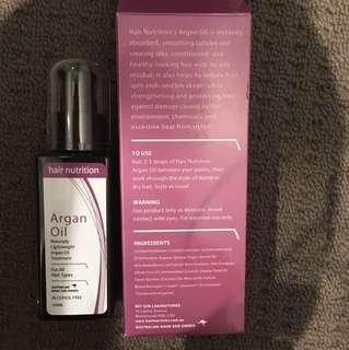 Hair nutrition Argan oil