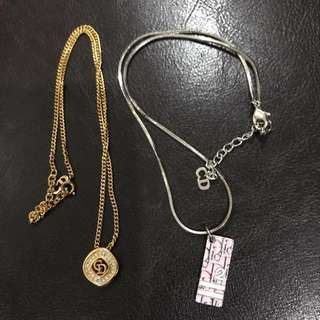 Vintage Dior Necklaces Price for 2 SALES