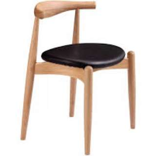 Hans wagner elbow chairs