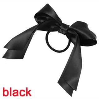 Black bow hairbands