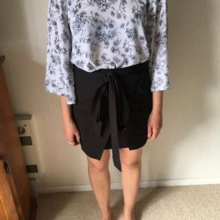 Size 8 black skirt